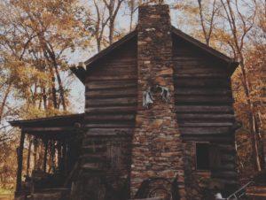 outside chimney